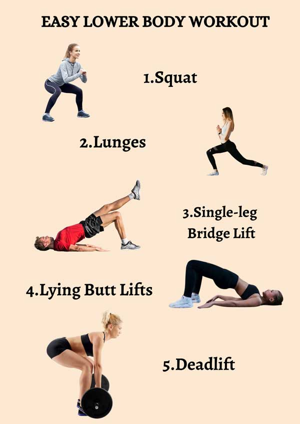 Easy Low Body Workout