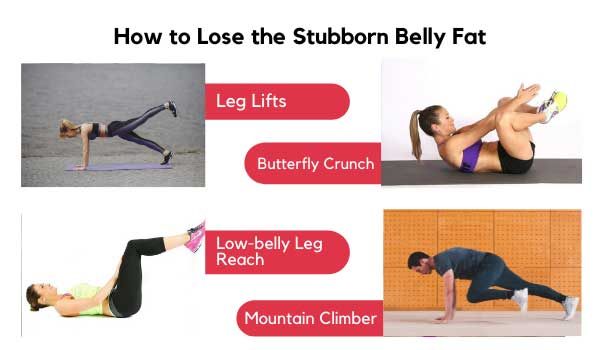 Lose the Stubborn Belly Fat